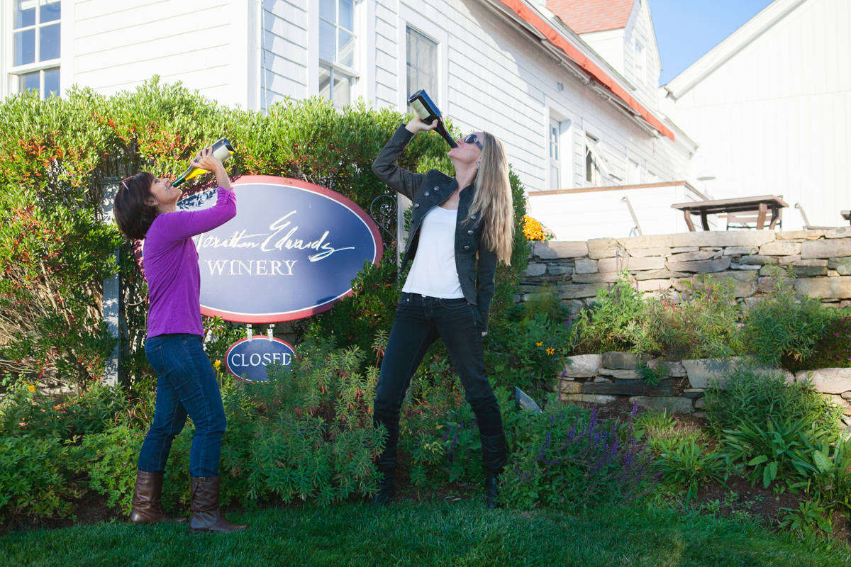 That's how we do wine tastings!