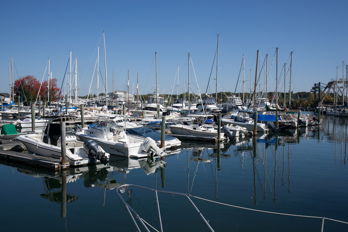 Marina in the daytime.