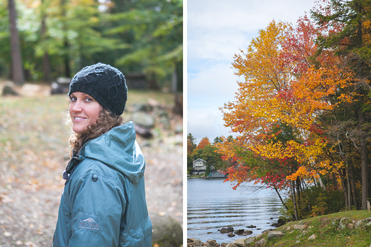 The beautiful fall.