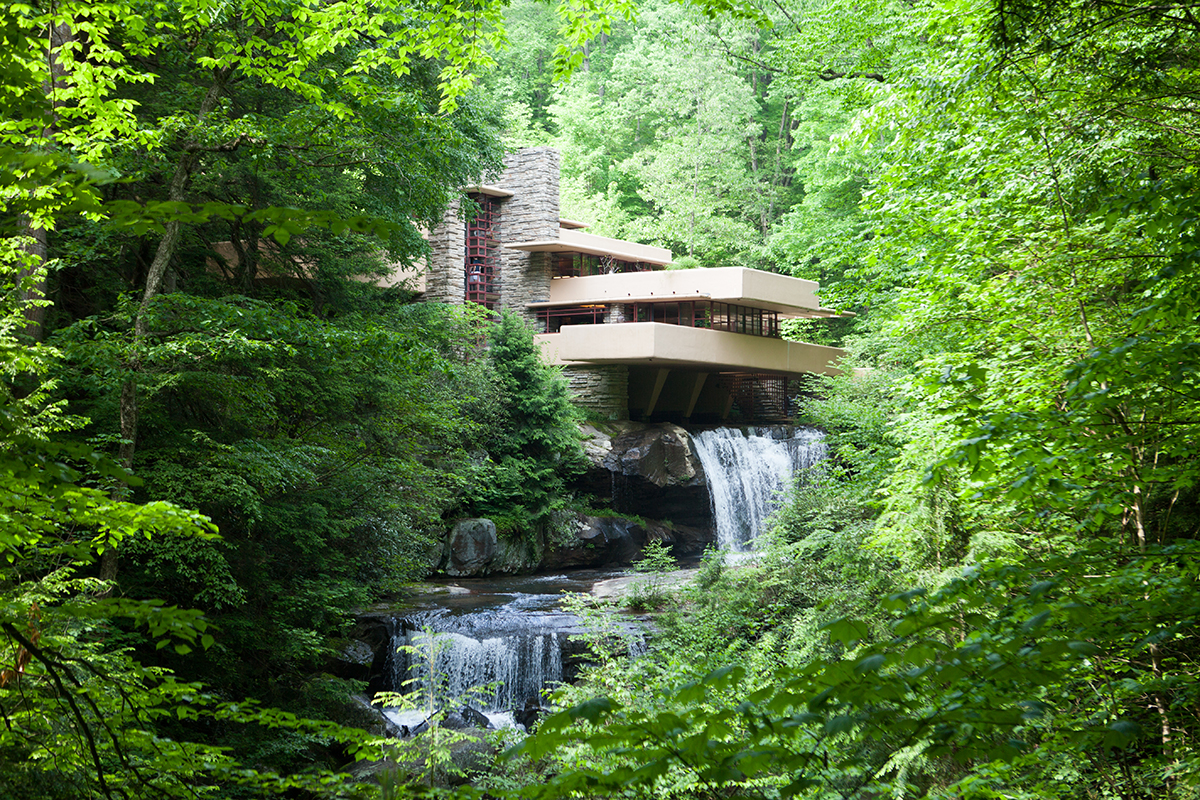 Falling Water and Ohio
